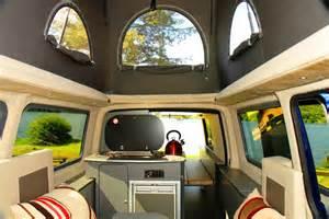 Vw Camper Van Interior Vw T5 Camper Van Hire Uk