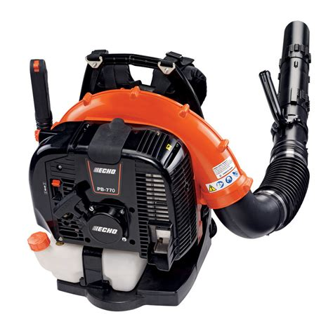 Aspirateur De Feuilles 408 by Echo Pb 770h Backpack Blower