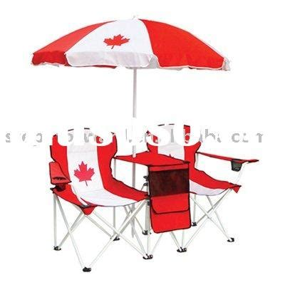 folding chair with umbrella canada chair with umbrella for sale price china