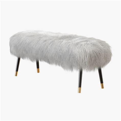 mongolian lamb bench bench mongolian lamb 3d model turbosquid 1245603