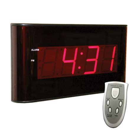 oversized led clock digital clock circuit schematic digital get free image