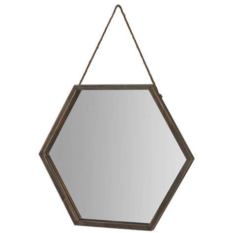 Hexagonal Framed Mirror The Range Bathroom Mirrors