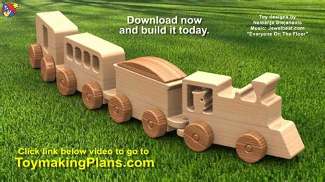 wood toy plans happy  lucky toy train youtube