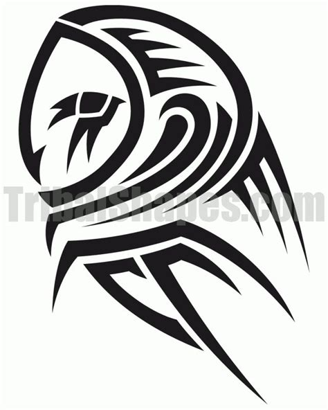 tribal tattoo owl best 25 tribal owl tattoos ideas on owl