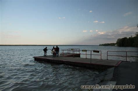 boat launch cayuga lake cayuga lake state park csite photos