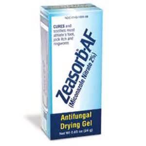 skintreat zeasorb af antifungal gel by stiefel for