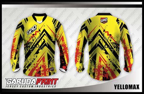desain baju racing online koleksi desain jersey sepeda downhill 02 garuda print