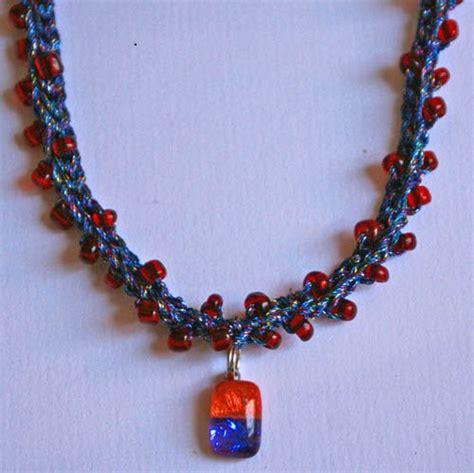 bead crochet tutorial beaded crochet necklace step by step tutorial