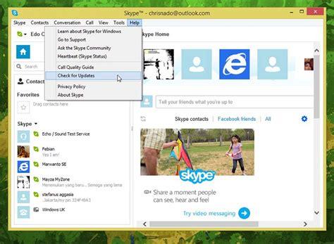 cara update e faktur versi terbaru cara update skype terbaru windows portal indonesia