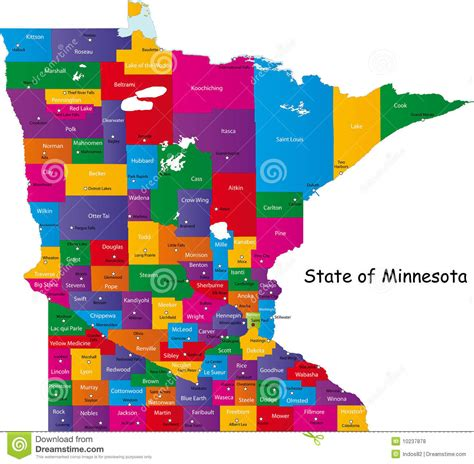 state pictures state of minnesota royalty free stock photos image 10237878