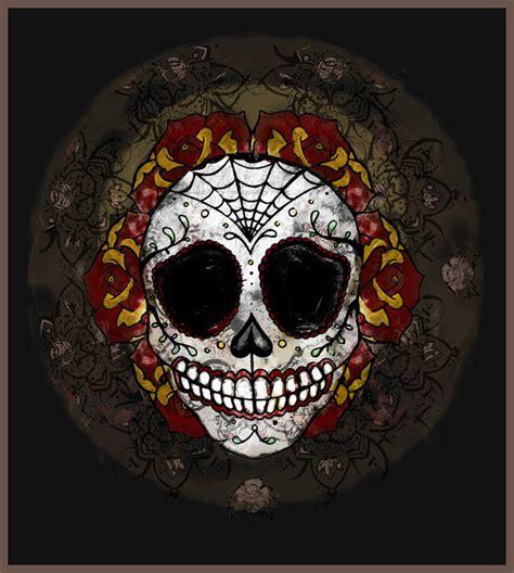 imagenes de una calaveras mexicanas calaveras mexicanas sugar skull imagenes im 225 genes