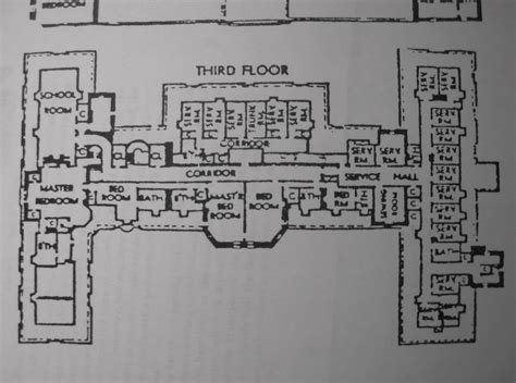 oheka castle floor plan 3rd floor oheka castle pinterest