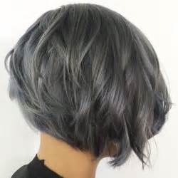 picture of gray wavy bob 17 best images about hair on pinterest bobs wavy bobs