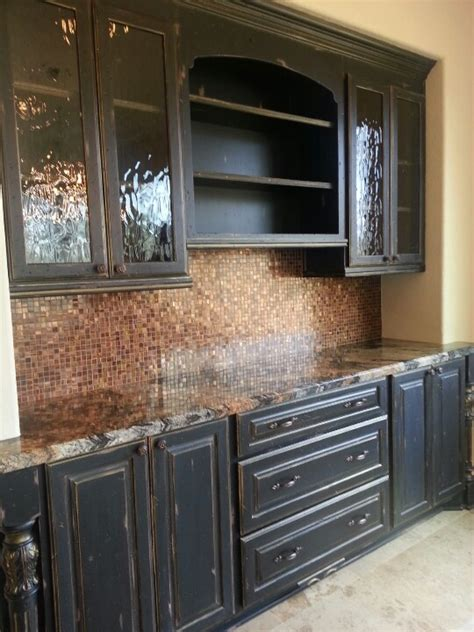 black distressed kitchen cabinets best 25 black distressed cabinets ideas on pinterest