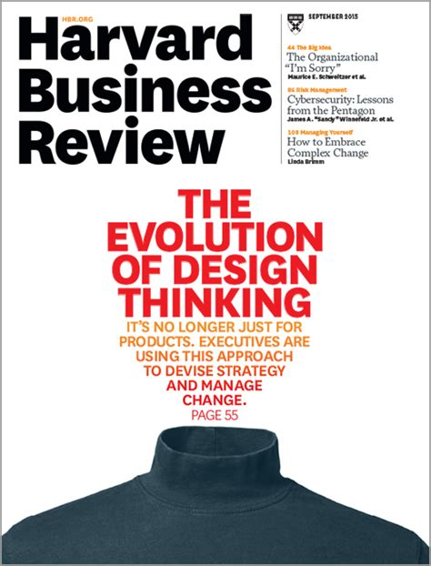 design thinking harvard business review design thinking comes of age