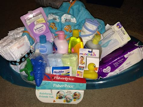 bathroom gift basket ideas baby bath gift basket baby shower ideas pinterest