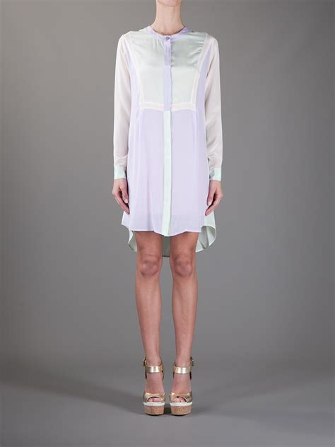 Ririanti Batik Layer Mini Dress lyst antik batik axel djellabah shirt dress in white
