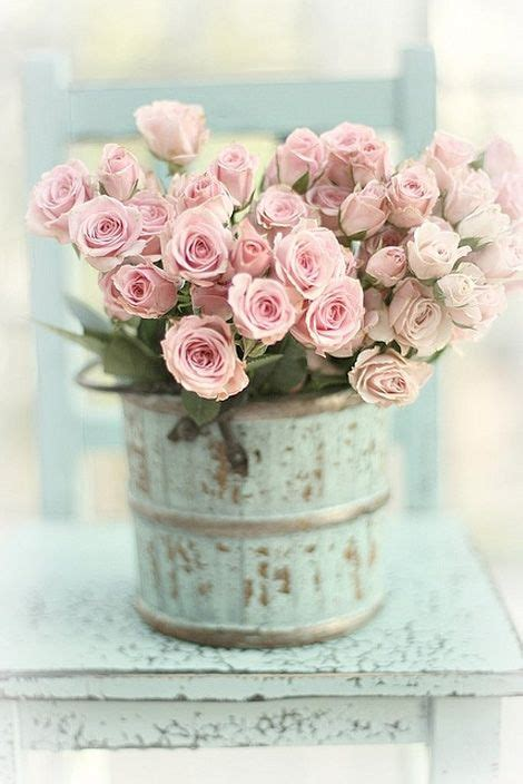 so shabby chic roses pretty in pink