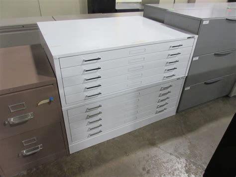 used office file cabinets flat files at furniture finders
