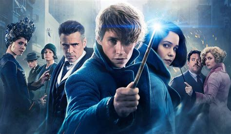 the script uk j k rowling has finished the script on fantastic beasts