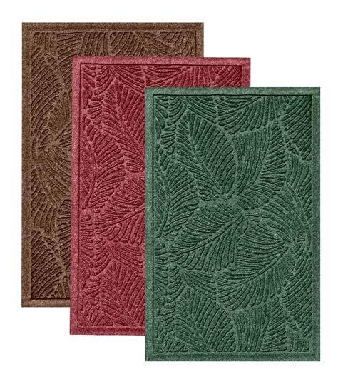water hog rug 2 6 quot x 8 waterhog fern runner doormats