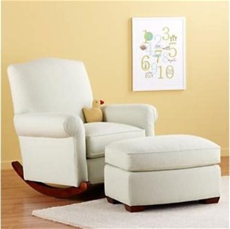 Glider Rocking Chairs Nursery Nursery Rocker And Ottoman Traditional Gliders By The Land Of Nod