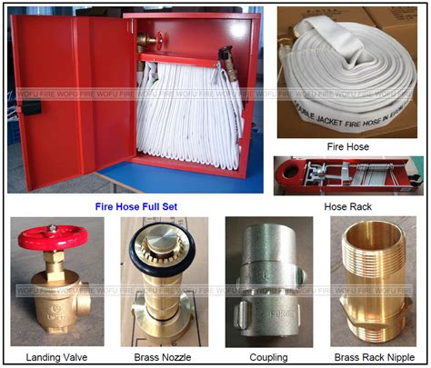 fire department valve cabinet carbon steel fire hose cabinet full set outdoor fire hose