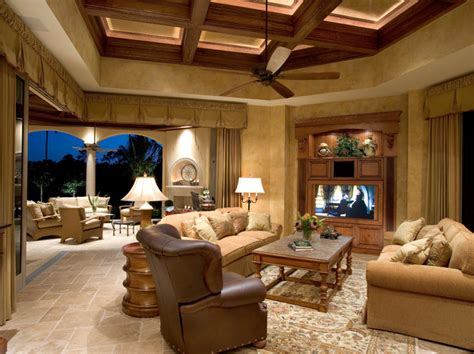custom living rooms sater group s quot cordillera quot custom home plan