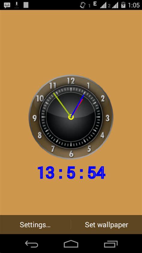google wallpaper clock clock live wallpaper android apps on google play