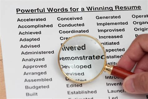 Resume Words Spearhead 4 Words To Supercharge Your Resume