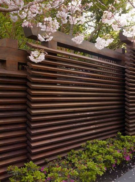 privacy fence design ideas   inspired digsdigs