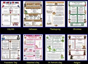 free parent newsletter template best 25 preschool newsletter templates ideas on