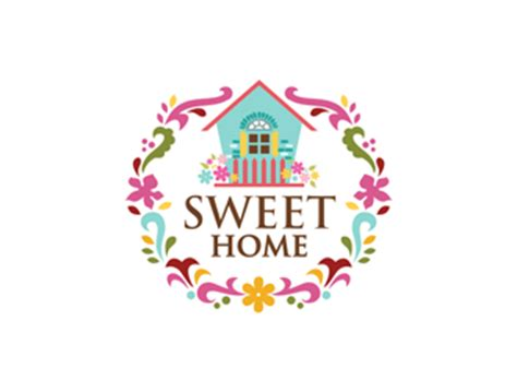 sweet home logo design 48hourslogo