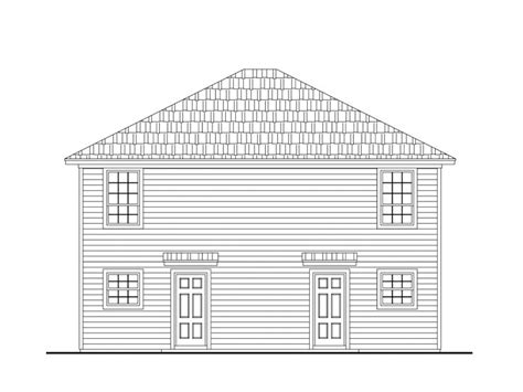 Duplex House Plans Two Story Multi Family Home Plan Two Story Duplex House Plans