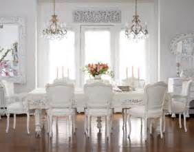 White Dining Room Table And Chairs by White Dining Room Table As Your Inspiration