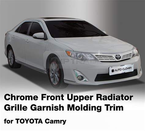 Toyota Calya Grill Radiator Front Grille Radiator Trim Chrome Chrome Front Radiator Grille Garnish Molding For 2012 2014 Toyota Camry
