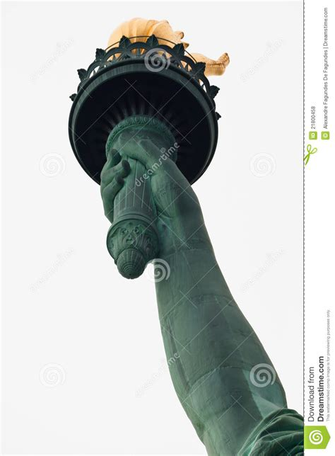 statue of liberty arm with torch statue of liberty torch new york city royalty free stock
