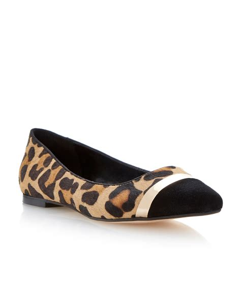 toe flat shoes dune flats lyst