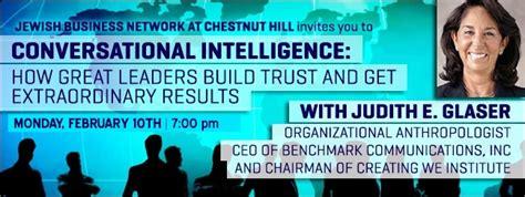 Conversational Intelligence How Great Leaders Build Trust Ebook business network 187 conversational intelligence