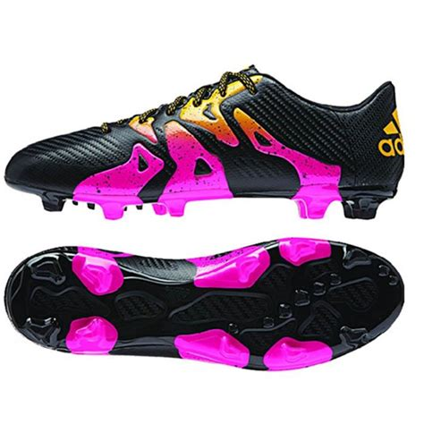 adidas x 15 3 fg s soccer cleat football shoes black pink gold ebay