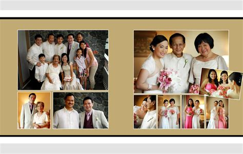 Sle Wedding Album Layout Philippines by Paolo Wedding Album Layout The Of