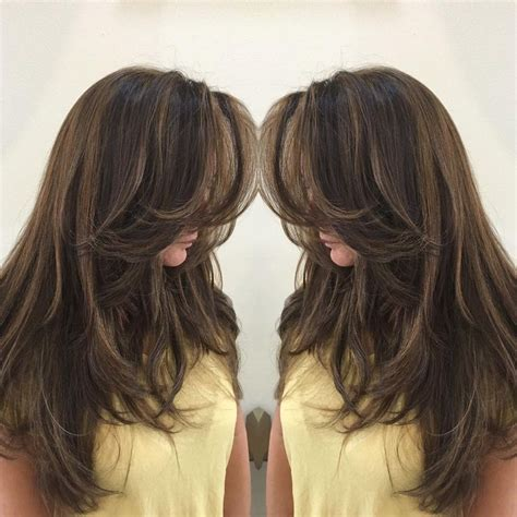 long straight hairstyles layered toward face 44 best images about long straight layered hairstyles on