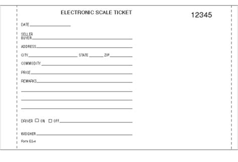 printable scale tickets printomatic scale tickets