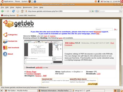 tutorial ubuntu español pdf modifying pdf files with pdfedit on ubuntu feisty fawn