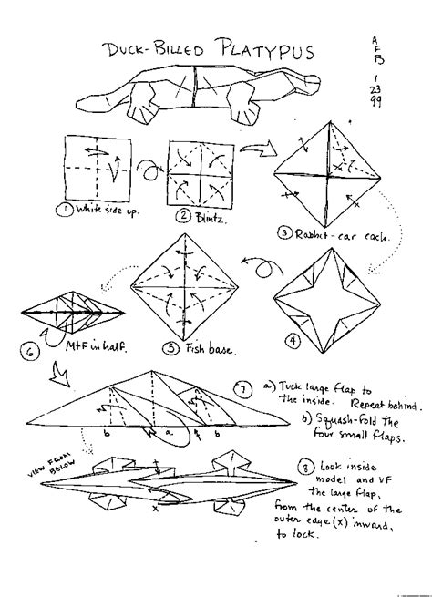 Information About Origami - free coloring pages origami animals origami