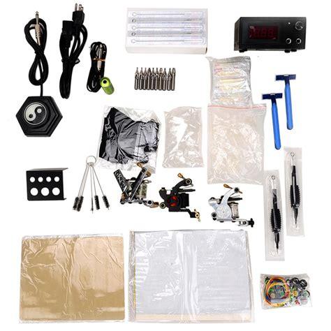 tattoo kit for less professional tattoo kit 2 machine gun power supply