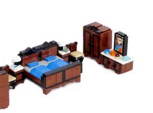 lego ideas minifig furniture bedroom