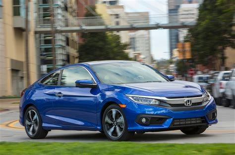 honda civic 2016 coupe 2016 honda civic coupe first test review motor trend