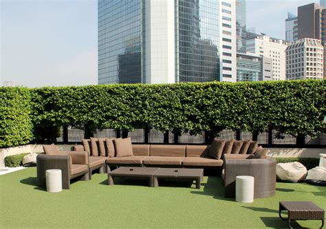 Patio Furniture Queensway Newly Renovated Lawn Area The House Hong Kong
