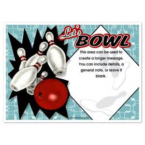 bowling invitation template 7 best images of bowling invitations printable